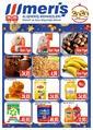 Meriş Alışveriş Merkezleri 26 Aralık 2019 - 05 Ocak 2020 Kampanya Broşürü! Sayfa 1