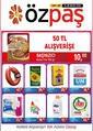 Özpaş Market 13 - 28 Ocak 2020 Kampanya Broşürü! Sayfa 1
