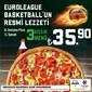 Sbarro Ocak 2020 Euroleague Menüsü Kampanyası Sayfa 1