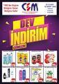 Cem Hipermarket 22 Şubat - 02 Mart 2020 Kampanya Broşürü! Sayfa 1