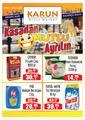 Karun Gross Market 31 Mart - 19 Nisan 2020 Kampanya Broşürü! Sayfa 1