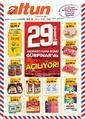 Altun Market 20 - 31 Mart 2020 Gürpınar Şubesi Kampanya Broşürü! Sayfa 1