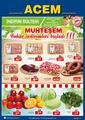 Acem Market 19 - 24 Mart 2020 Kampanya Broşürü! Sayfa 1