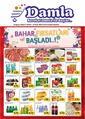 Damla Market Gaziantep 16 Mart - 05 Nisan 2020 Kampanya Broşürü! Sayfa 1