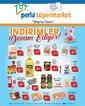 Perla Süpermarket 01 - 16 Mart 2020 Kampanya Broşürü! Sayfa 1