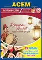 Acem Market 16 - 30 Nisan 2020 Kampanya Broşürü! Sayfa 1