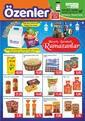 Özenler Market 20 Nisan - 11 Mayıs 2020 Kampanya Broşürü! Sayfa 1