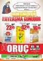 Oruç Market 05 - 18 Mayıs 2020 Kampanya Broşürü! Sayfa 1
