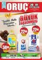 Oruç Market 20 Mayıs - 01 Haziran 2020 Kampanya Broşürü! Sayfa 1