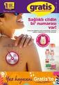 Gratis 08 - 30 Haziran 2020 Kampanya Broşürü! Sayfa 1