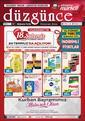 Düzgün Market 24 - 31 Temmuz 2020 Kampanya Broşürü! Sayfa 1