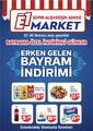 E1-Market 23 - 30 Temmuz 2020 Kampanya Broşürü! Sayfa 1