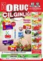 Oruç Market 02 - 12 Temmuz 2020 Kampanya Broşürü! Sayfa 1