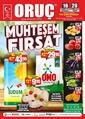 Oruç Market 16 - 26 Temmuz 2020 Kampanya Broşürü! Sayfa 1