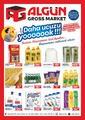 Algün Gross Market 11 Temmuz - 01 Ağustos 2020 Kampanya Broşürü! Sayfa 1