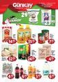 Günkay Market 25 Temmuz - 03 Ağustos 2020 Kampanya Broşürü! Sayfa 1