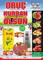 Oruç Market 28 Temmuz - 09 Ağustos 2020 Kampanya Broşürü! Sayfa 1