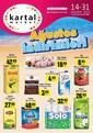 Kartal Market 14 - 31 Ağustos 2020 Kampanya Broşürü! Sayfa 1