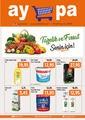 Aypa Market 22 - 26 Ağustos 2020 Kampanya Broşürü! Sayfa 1