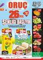 Oruç Market 12 - 23 Ağustos 2020 Kampanya Broşürü! Sayfa 1