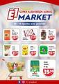 E1-Market 08 - 16 Ağustos 2020 Kampanya Broşürü! Sayfa 2 Önizlemesi