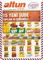 Altun Market 22 - 31 Ağustos 2020 Kampanya Broşürü! Sayfa 1