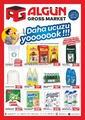 Algün Gross Market 21 Eylül - 11 Ekim 2020 Kampanya Broşürü! Sayfa 1