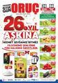 Oruç Market 24 Eylül - 04 Ekim 2020 Kampanya Broşürü! Sayfa 1