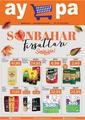 Aypa Market 24 - 30 Eylül 2020 Kampanya Broşürü! Sayfa 1