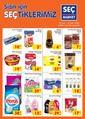 Seç Market 30 Eylül - 06 Ekim 2020 Kampanya Broşürü! Sayfa 1