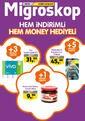 Migros 29 Ekim - 11 Kasım 2020 Kampanya Broşürü: Hem İndirimli Hem Money Hediyeli Sayfa 1 Önizlemesi