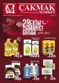 Çakmak Market 25 Ekim - 08 Kasım 2020 Kampanya Broşürü! Sayfa 1 Önizlemesi