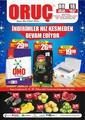 Oruç Market 08 - 18 Ekim 2020 Kampanya Broşürü! Sayfa 1