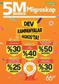 5M Migros 15 - 28 Ekim 2020 Kampanya Broşürü: Dev Kampanyalar Sayfa 1 Önizlemesi
