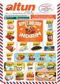 Altun Market 27 Kasım - 06 Aralık 2020 Kampanya Broşürü! Sayfa 1