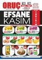 Oruç Market 19 - 29 Kasım 2020 Kampanya Broşürü! Sayfa 1