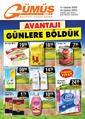 Gümüş Ekomar Market 19 - 30 Kasım 2020 Kampanya Broşürü! Sayfa 1
