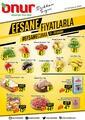 Onur Market 27 - 29 Kasım 2020 İstanbul & Trakya Bölge Kampanya Broşürü! Sayfa 1 Önizlemesi