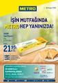 Metro Toptancı Market 01 - 30 Kasım 2020 İşin Mutfağında Kampanya Broşürü! Sayfa 1 Önizlemesi