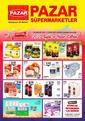Pazar Süpermarketler 24 Aralık 2020 - 05 Ocak 2021 Kampanya Broşürü! Sayfa 1