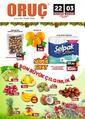 Oruç Market 22 Aralık 2020 - 03 Ocak 2021 Kampanya Broşürü! Sayfa 1