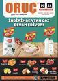 Oruç Market 16 - 21 Aralık 2020 Kampanya Broşürü! Sayfa 1