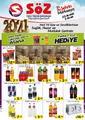 Söz Toplu Tüketim Mağazaları 23 Aralık 2020 - 03 Ocak 2021 Kampanya Broşürü! Sayfa 1