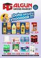 Algün Gross Market 18 Aralık 2020 - 10 Ocak 2021 Kampanya Broşürü! Sayfa 1