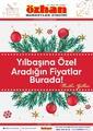 Özhan Marketler Zinciri 21 - 31 Aralık 2020 Kampanya Broşürü! Sayfa 1