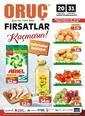 Oruç Market 20 - 31 Ocak 2021 Kampanya Broşürü! Sayfa 1