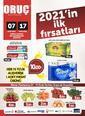 Oruç Market 07 - 17 Ocak 2021 Kampanya Broşürü! Sayfa 1