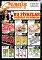 Gümüş Ekomar Market 26 - 31 Ocak 2021 Kampanya Broşürü! Sayfa 1