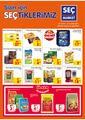 Seç Market 27 Ocak - 02 Şubat 2021 Kampanya Broşürü! Sayfa 1 Önizlemesi