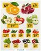 Gürmar Süpermarket 17 Şubat 2021 Manav Fırsatları Sayfa 1